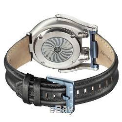 Gv2 By Gevril Men's 3400 Triton Automatic Limited Edition Black Leather Watch