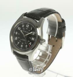 HAMILTON Khaki Field H704450 Automatic Leather belt Men's Watch 501465