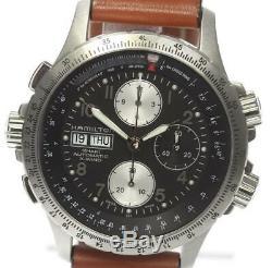 HAMILTON Khaki X-Wind H776160 Chronograph Automatic Men's Watch 502114