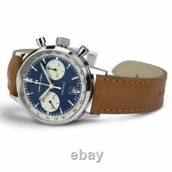 Hamilton American Classic Intra-Matic Auto Chrono Blue Dial Men Watch H38416541