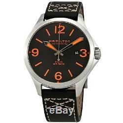 Hamilton H76535731 Men's Khaki Aviation Air Race Black Automatic Watch