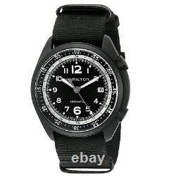 Hamilton H80485835 Men's Khaki Aviation Black Automatic Watch
