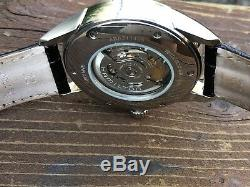 Hamilton Jazzmaster Viewmatic Automatic Watch with Black Leather Band