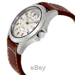 Hamilton Khaki Field King Automatic Silver Dial Men's Watch H64455523