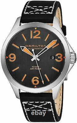 Hamilton Men's Khaki Aviation H76535731 42mm Black Dial Automatic Watch