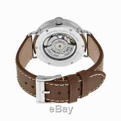 Hamilton Navy Pioneer Automatic Silver Dial Men's Watch H78465553