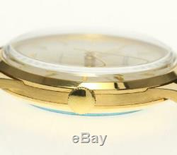 IWC 18K Yellow Gold Cal. 853 Antique Silver Dial Automatic Men's Watch 525966