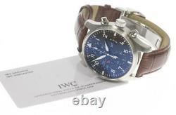 IWC Pilot IW377701 Chronograph black Dial Automatic Men's Watch 571770