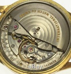 IWC SCHAFFHAUSEN K18 Solid gold cal. 853 antique Automatic Men's Watch 499535