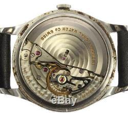 IWC Schaffhausen Antique cal. 853 Silver Dial Automatic Men's Watch 531707