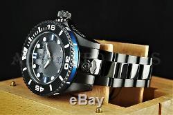 Invicta Grand Diver GEN II BLACK COMBAT Blue Edge Automatic Black IP SS Watch