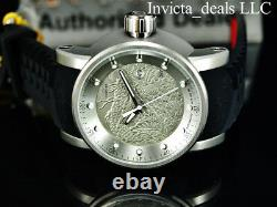 Invicta Men's S1 YAKUZA Dragon AUTOMATIC NH35A SILVER DIAL Black & Red SS Watch