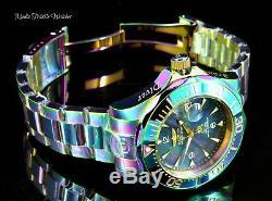 Invicta Mens 47mm Grand Diver Automatic Black MOP Dial IRIDESCENT Bracelet Watch