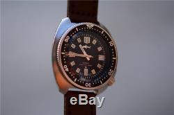 Japan Tuna Diver Automatic wris watch MarineMaster Mens Turtle 6105-8110 Sharkey