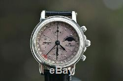 Jean Marcel Automatic Chronograph Swiss Moonphase ref. 160.145 Valjoux 7750