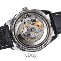 LONGINES Admiral Date Cal. 6652 Silver Dial Automatic Men's Watch M#99493