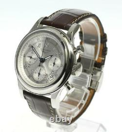 LONGINES Heritage 1951 L2.745.4 Chronograph Silver Dial Automatic Men's 608746
