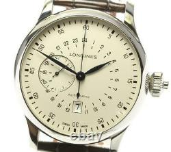 LONGINES Heritage L2.797.4 24 Hours Chronograph Automatic Men's Watch 572043