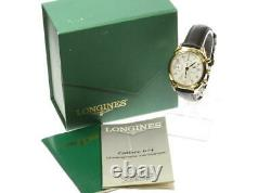 LONGINES L4.642.2 Chronograph white Dial Automatic Men's Watch 562551