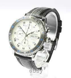 LONGINES Lindbergh Hour Angle L2.602.4 Chronograph Automatic Men's Watch 549372