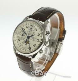 LONGINES Master Collection L2.673.4 Chronograph Moon phase Automatic 470492