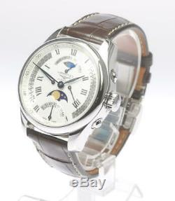LONGINES Master Collection Retrograde Moonphase L2.738.4 Automatic Men's 503165