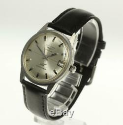 LONGINES Ultra Chron Automatic Leather belt Men's Watch 487018