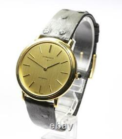 LONGINES round gold Dial Automatic Men's Watch 559030