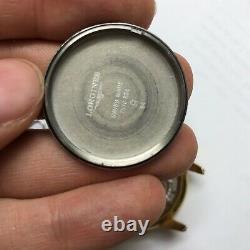 Longines Mens Swiss Watch Chronograph Automatic Vintage Steel L4.661.2 Golden