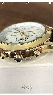 Lorenz Automatic Chronograph Watch, Valjoux 7750 good conditions