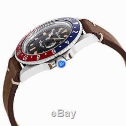 Mathey-Tissot Rolly Vintage Automatic Black Dial Pepsi Bezel Men's Watch