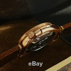 Men's Bronze 6105 Diving watches Male Automatic Wrist watch NH35 sapphire glass