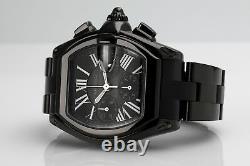 Men's Watch Roadster XL Black Dial W62020X6 Custom Black PVD/DLC
