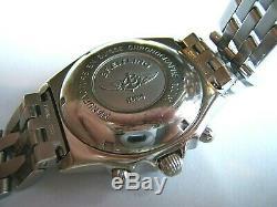 Mint Breitling Chronomat 40mm Automatic Pilot Chronograph A13050.1 Black Box Set