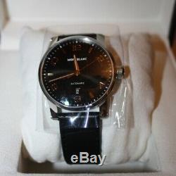 MontBlanc TimeWalker Black Dial Automatic Men's Watch 110337