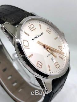 Montblanc Men's Timewalker 101550 Automatic Rose Gold Leather Watch