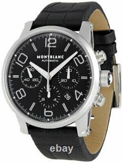 Montblanc Timewalker Automatic Movement Black Dial Men's Watches 9670