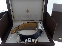 NEW Baume et Mercier Clifton Steel on Leather Swiss Automatic Men's Watch 10055