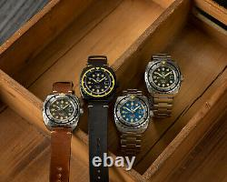 NEW Esoteric Bathyal Oscuro By Ocean Crawler DLC Automatic Sapphire 600M Diver