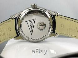 NEW Frederique Constant Runabout Swiss Automatic Leather Strap Watch FC-303RMS6B