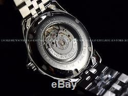 NEW Glycine Mens Combat Swiss Made Automatic Black Dial Sapphire SS Watch 3890