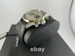 NEW Hamilton Intra-Matic Chronograph Automatic Black / Panda Dial H38416711