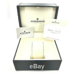 NEW Junghans Max Bill 027/3400.04 Men's Automatic Watch 027/3400.00