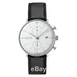 NEW Junghans Max Bill Chronoscope Men's Automatic Watch 027/4600.00
