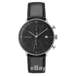 NEW Junghans Max Bill Chronoscope Men's Automatic Watch 027/4601.00