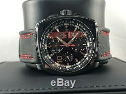 NEW Luminox Tony Kanaan Swiss Automatic Chronograph Leather Strap Watch 1181