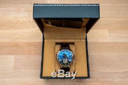 NEW Mens Flywheel Luxury Open Heart Skeleton Automatic Mechanical Leather Watch
