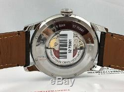 NEW Oris Artelier Swiss Made Automatic Leather Strap Watch 74476654051LS