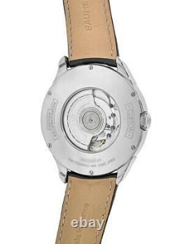 New Baume & Mercier Clifton Automatic Blue Dual Time Leather Men's Watch 10422