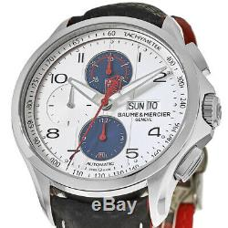 New Baume & Mercier Clifton Club Automatic Chronograph Men's Watch 10342